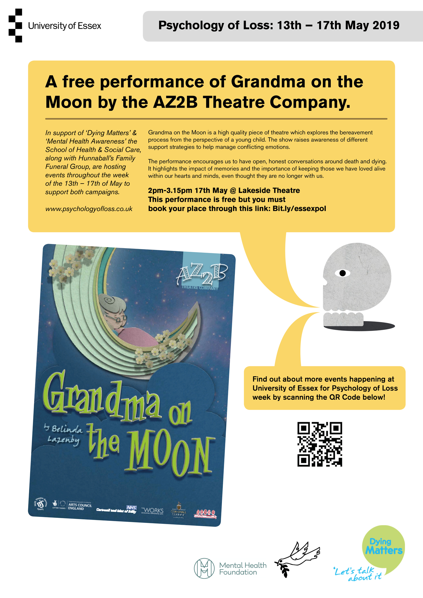 Grandma on the Moon poster